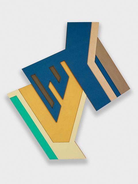 Frank Stella, Konskie III, 1971