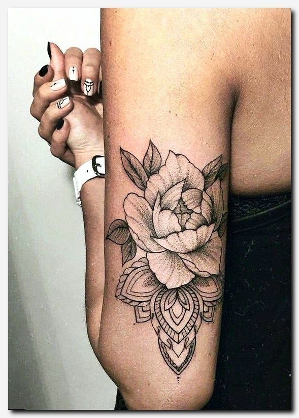 I really dig this. Maybe a bear or a sunface instead of #rosetattoo #tattoo double h