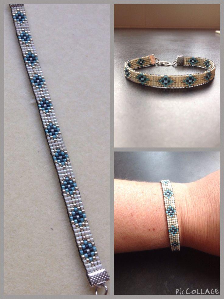 Geweven armband.