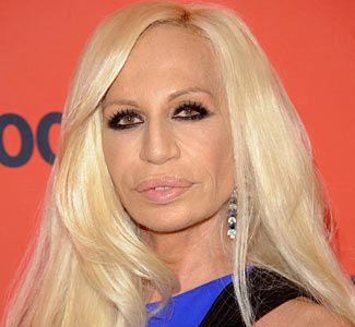 I can understand a little plastic surgery in certain cases, but where do we go from having 'a little work done' to being the people from the Capital in Hunger Games? (This is Donatella Versace btw)