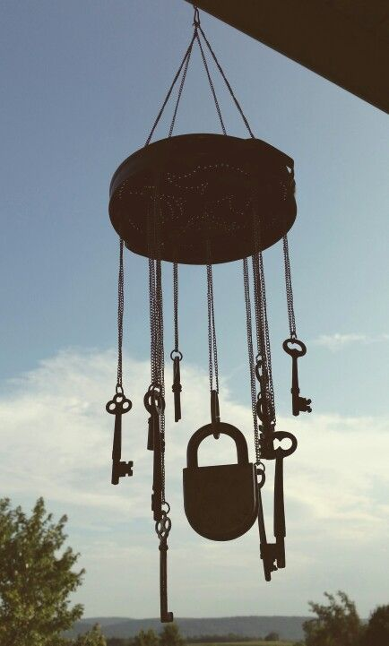 Skeleton Key Windchime