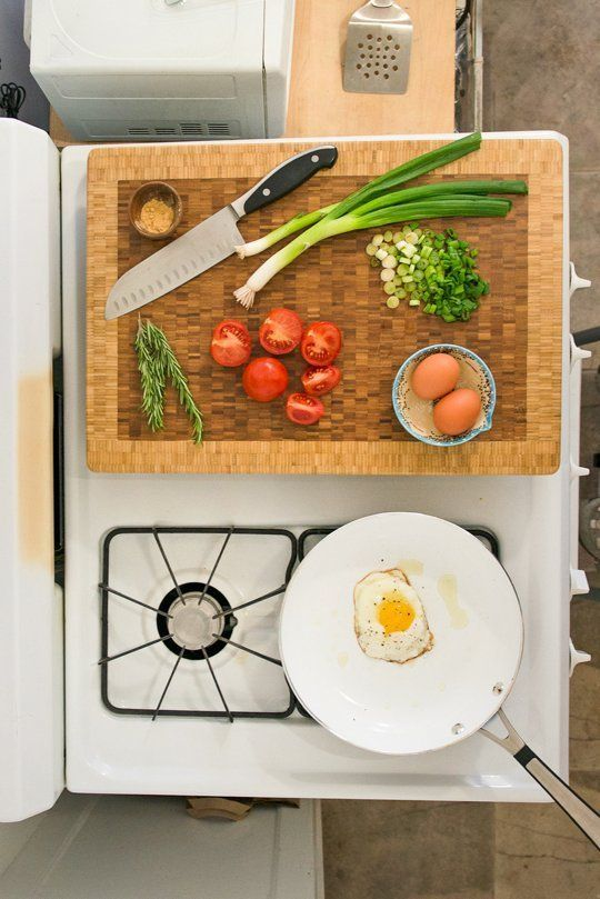 40+ Organization and Storage Hacks for Small Kitchens --> Double the counter space in your kitchen by building burner covers