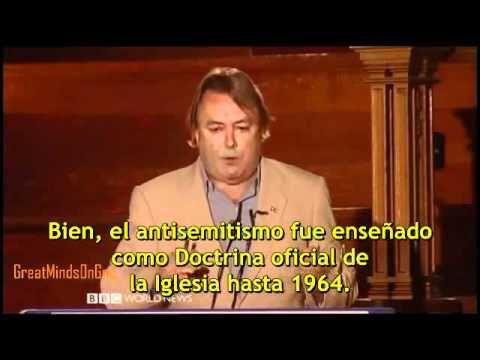 ▶ Christopher Hitchens sobre la Iglesia Católica - YouTube