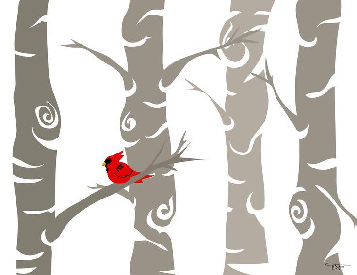 Red Bird by labrattish.deviantart.com on @deviantART
