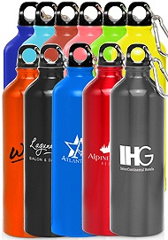 Favors for camp wedding-24oz. BPA FREE Aluminum Water Bottles