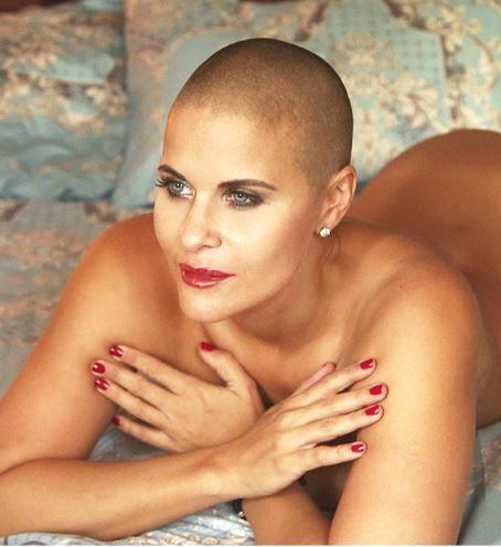 Russian model Marina Vovchenko