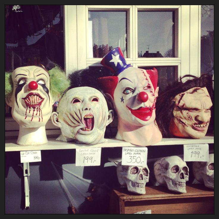 Halloween Tivoli, Copenhagen.