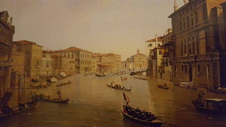 "JOHANNES VERVLOET. VENICE. 1859. oil on canvas. 43 × 60 cm. Signed and dated: ""J. Vervloet 1859 "" on boat lower right. Finarte. Milan. Olds Paintings. 16/ 05/ 2001. Lot 172. Estimate: 20.000/ 25.000 €."