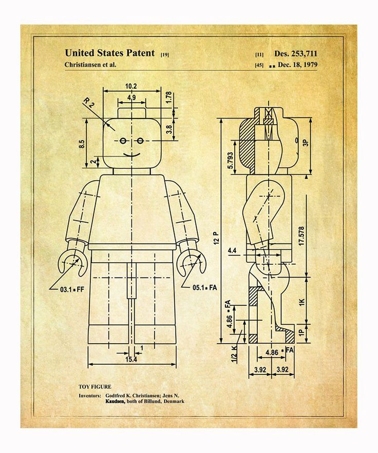 Take a look at this Lego 'Toy Figure' 1979 Art Print on zulily today!