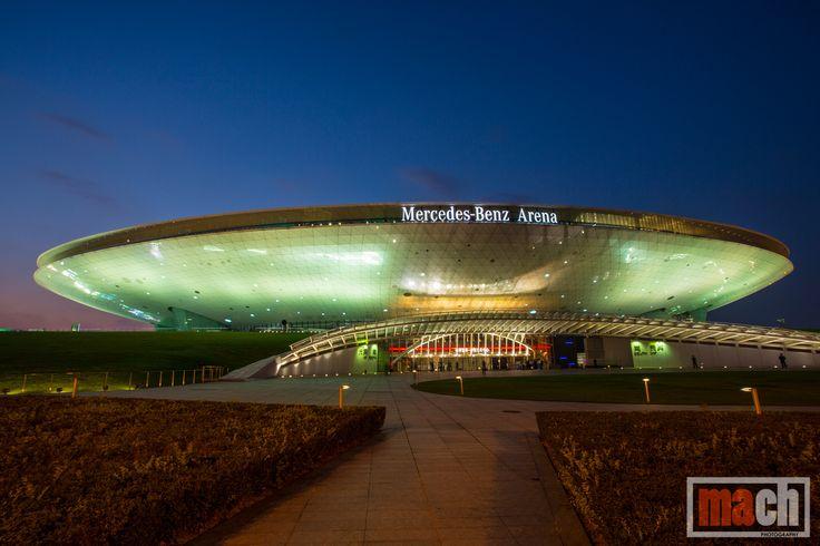 The Mercedes Benz Arena, Shanghai, China