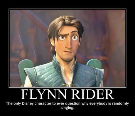 Flynn Rider's too clever for Disney… #lol #haha #funny