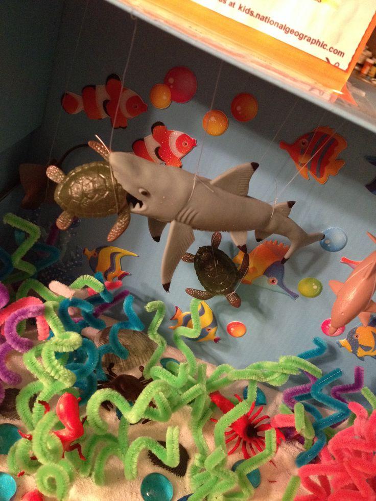 Carson's Bull Shark Ocean Diorama project                                                                                                                                                                                 More