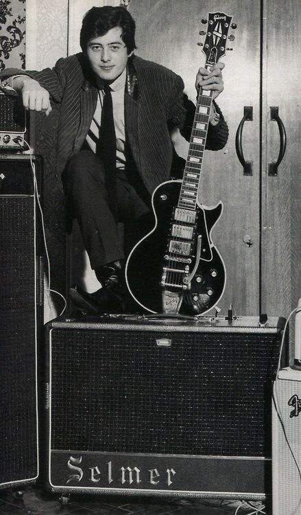 Jimmy Page, 1964 + Selmer Thunderbird / Zodiac + LesPaul Custom BlackBeauty!!!