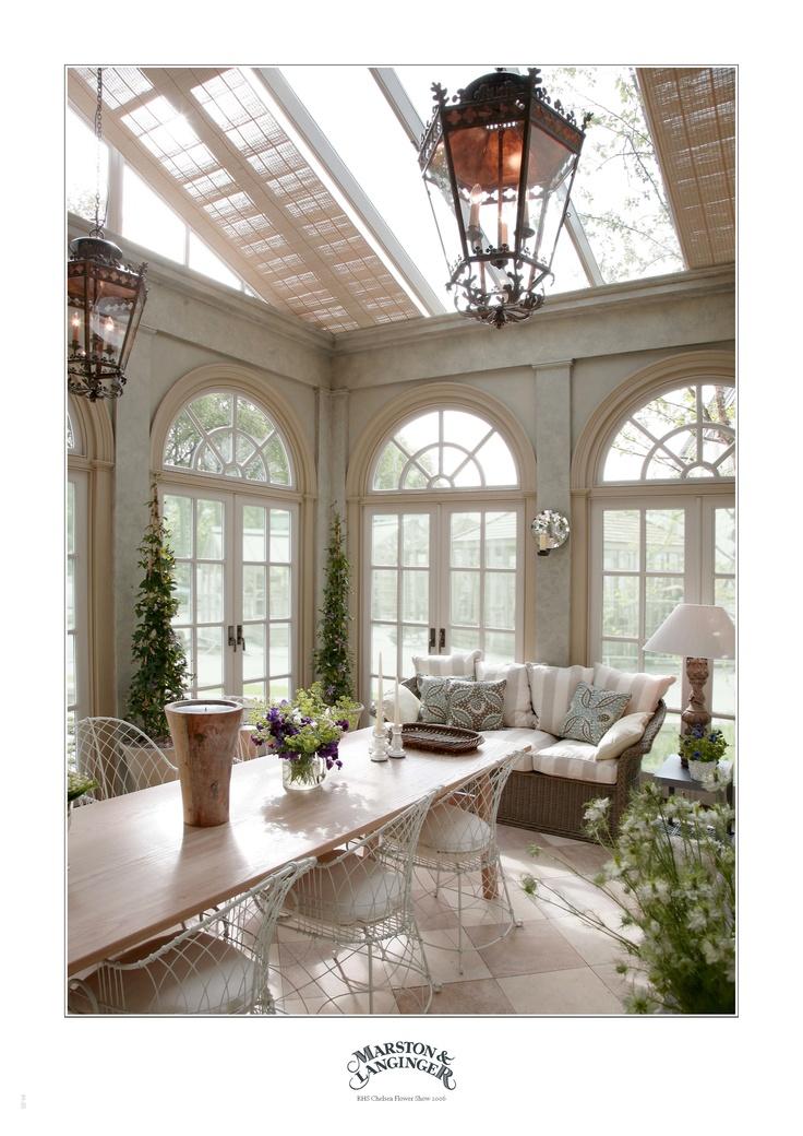 Marston  Langinger Orangery  Interior ML Victoriana Wire Chairs