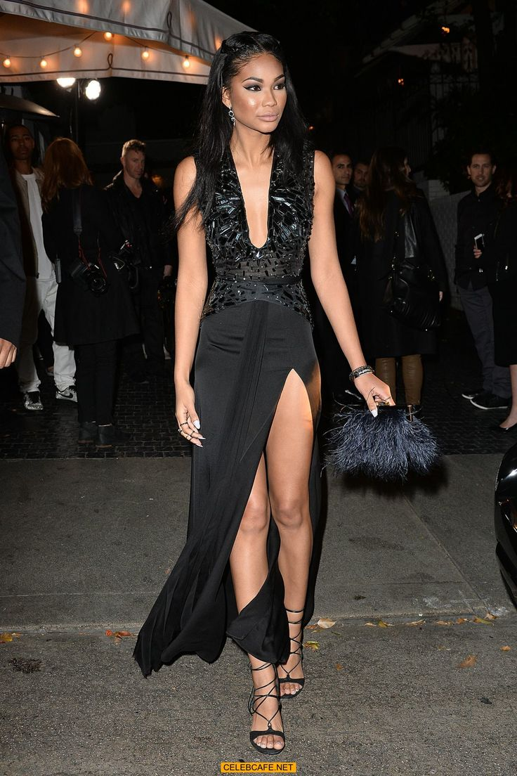 Name: Chanel Iman, Profession: Supermodel, Nationality: United States, Ethnicity: Asian, Birthplace: Atlanta, D.O.B: December 1, 1990, Height: 5 feet and 10 inches, Weight: 51 kgs, Measurements: 32A-23-33 , Enhanced Hooters: No