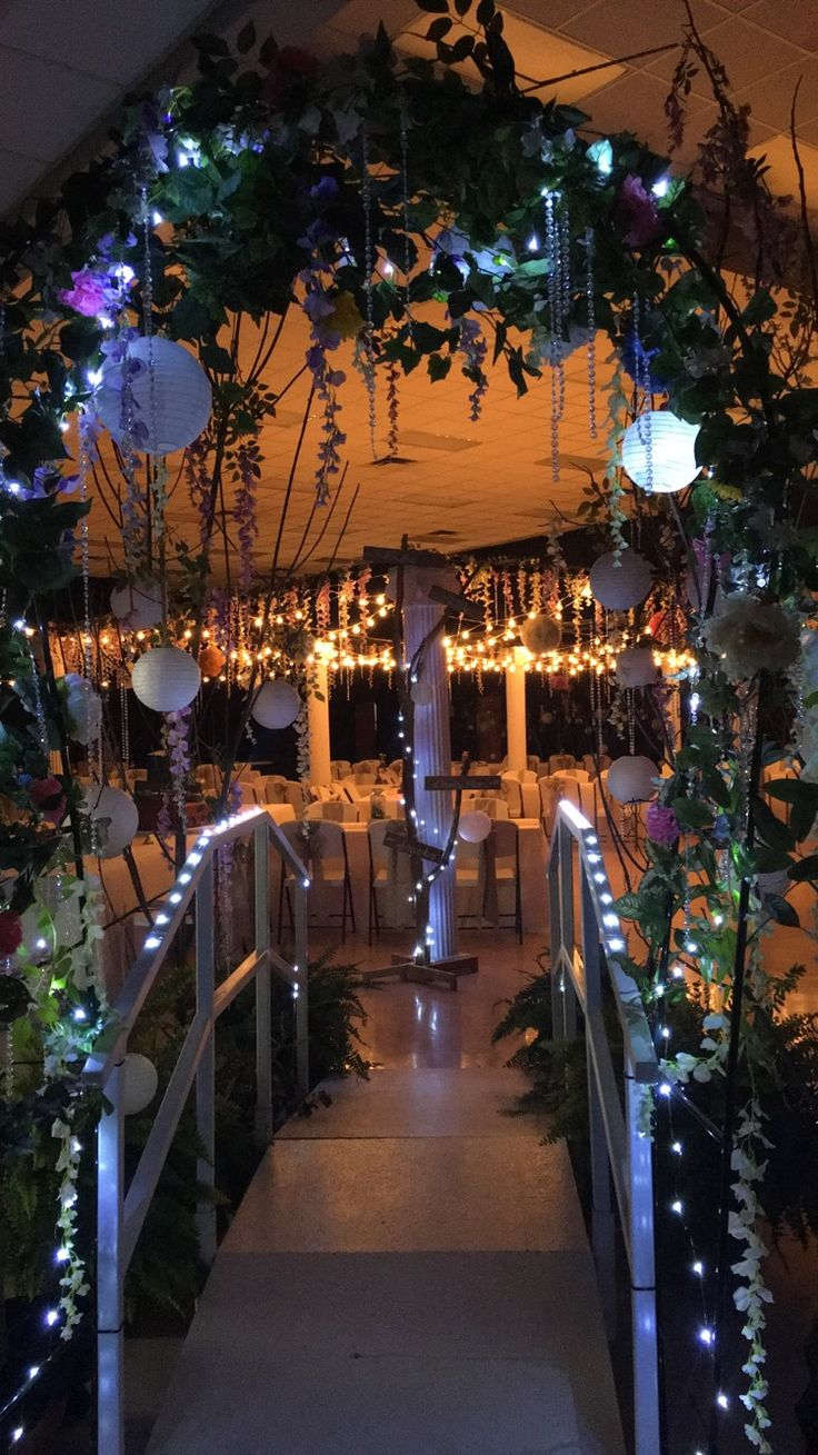 Enchanted Forest Prom Theme
