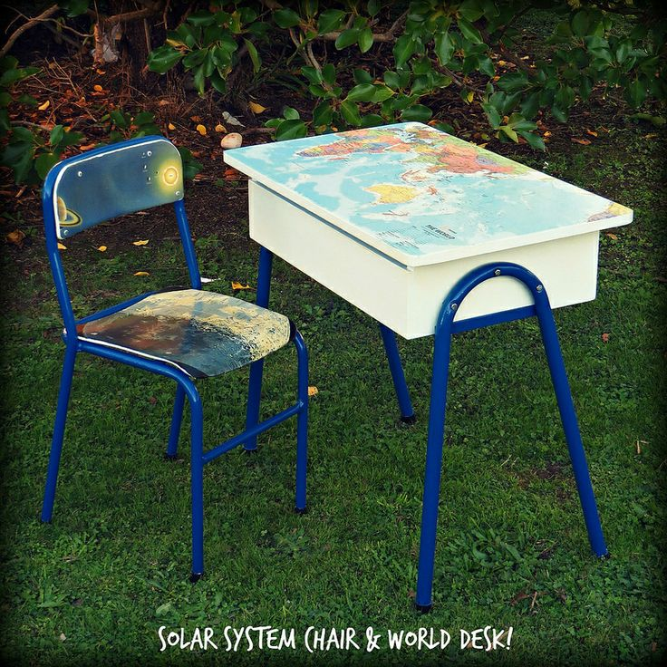 World Desk and Solar System Chair
