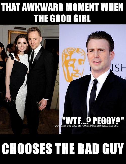 Sorry Captain, but ladies love Loki.