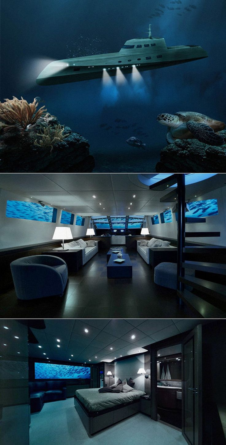 Submarine!! Now that's taking it to a whole new level! I would need to be drink the entire 3 months!! N or morphine!!