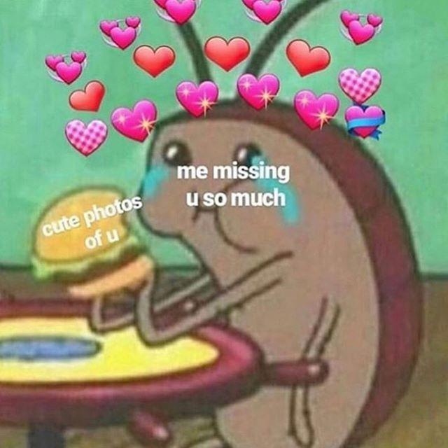 Me Missing U Me Missing U Cute Love Memes Love You Meme Cute I Love You