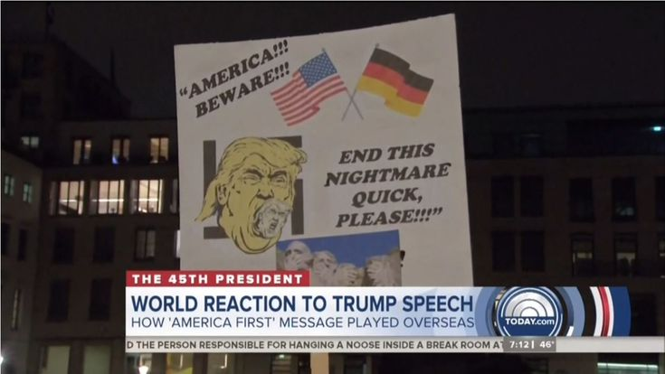 "The day after Donald Trump became the 45th president of the United States, NBC News stoked fears for the next four years by hyping protests from around the world and portrayed Russia as the only country celebrating. ""Protests not only taking place here in the United States but around the world as well, from Tokyo to Berlin to Manila, and London as well,"" announced co-anchor Craig Melvin Saturday on Today, leading into a ridiculous report by chief global correspondent Bill Neely."
