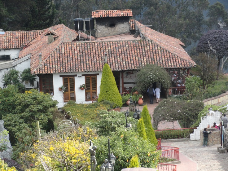 Casa Colonial. It's now a restaurant at the top of the mountain Montserrate.