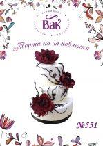 Купить шикарный свадебный торт в Виннице