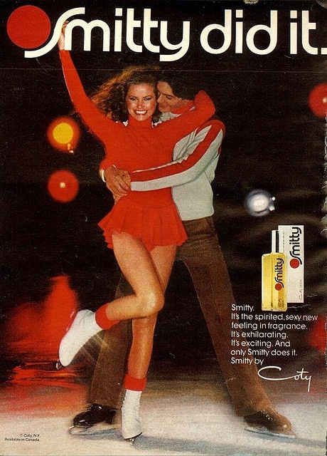 Smitty perfume was THE scent to wear in the mid-70's. I don't know why they stopped making it.