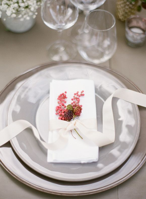 REVEL: Berry Place Setting