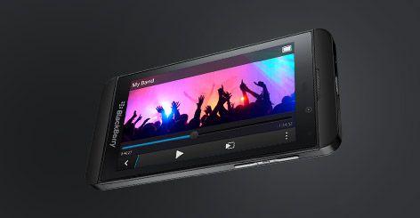 BlackBerry Z10 streaming video