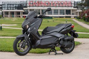 Yamaha X-Max 125 - Simples e eficaz - MotoNews - Andar de Moto