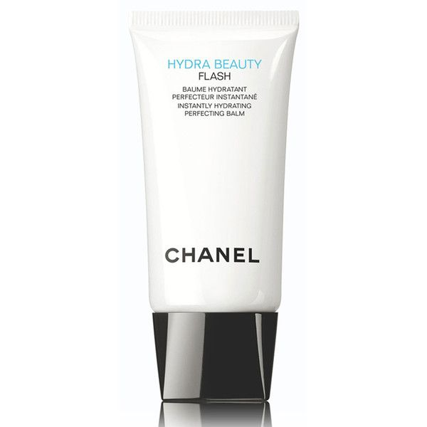 CHANEL HYDRA BEAUTY FLASHInstantly Hydrating Perfecting Balm ($55) ❤ liked on Polyvore featuring beauty products, skincare, chanel skincare, chanel skin care, chanel, chanel beauty products and eye skin care