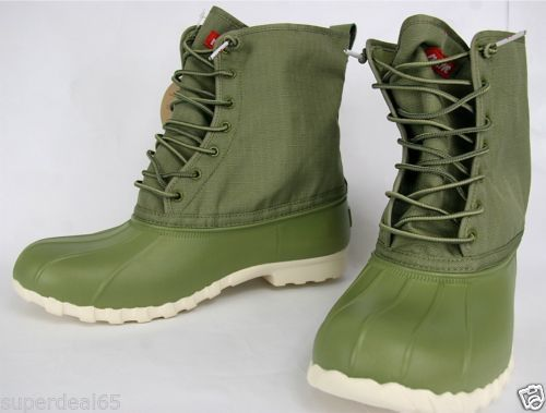 Native Boots Jimmy Bunker Green