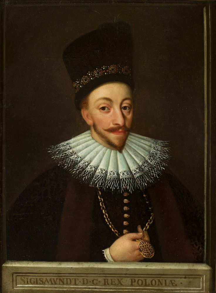 Portrait of Sigismund III Vasa by Jan Szwankowski, 1590s (PD-art/old), Muzeum…