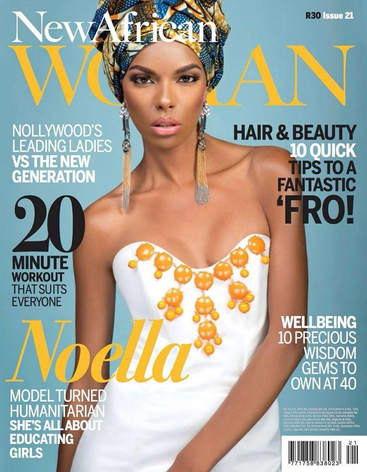 Tina Lobondi in New African Woman Magazine