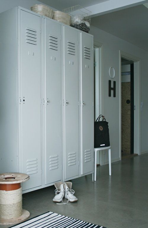 Best 25 repurposed lockers ideas on pinterest school for Metal lockers ikea