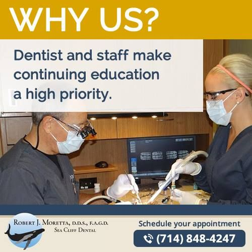 We are constantly increasing our knowledge and skills. We are clinically trained provide absolute best treatment possible. Our patient's satisfaction is our number one priority.  #huntingtonbeach #california #dentist #cosmeticdentist #huntingtonbeachdentist