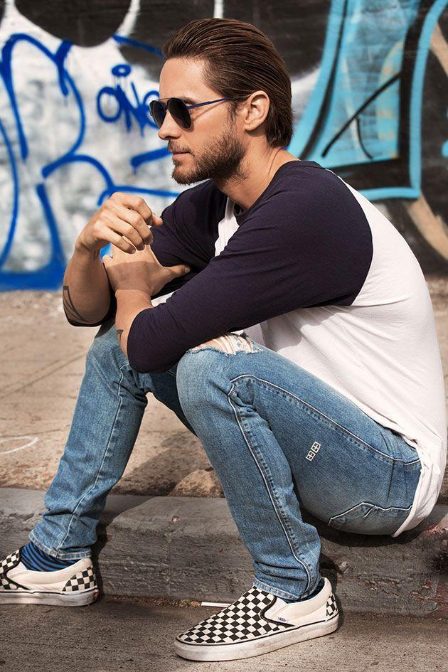 Vem conferir as imagens da nova campanha da Carrera com o ator e cantor Jared Leto!