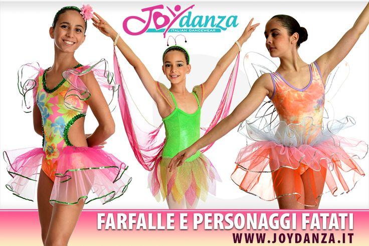 Costumi Danza per Saggi - Farfalle e Fatine per temi incantati. #costumidanza #saggiodanza