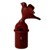 Alessi Bird Whistle Replacement Whistle for Alessi Hob Kettle Burgundy Red
