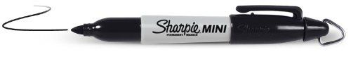 Sharpie Mini Permanent Marker With Lanyard BLACK Sharpie http://www.amazon.co.uk/dp/B002VAL5SS/ref=cm_sw_r_pi_dp_9sqgwb1R5FNWH