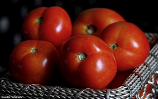 Basket of tomatoes - Ajaytao