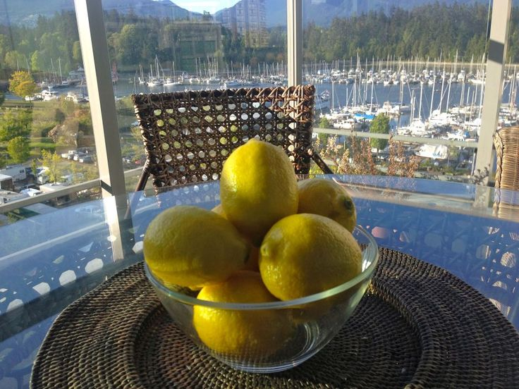 Feng Shui & 7 Lemons in a bowl!
