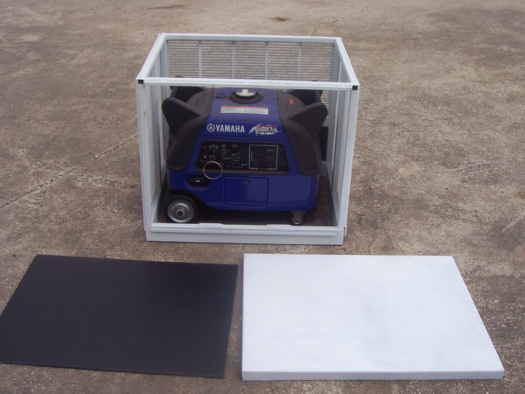 Portable Electrical Enclosure : Images about generator enclosure on pinterest riding