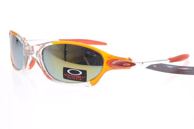 Oakley Gascan Sunglasses Red Yellow Frame Colorful Lens 0494