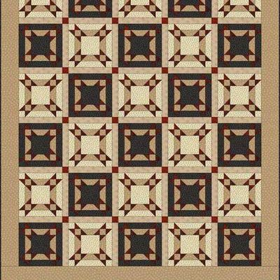 Try Under the Stars if You Loe Star Quilt Patterns: Under the Stars Quilt