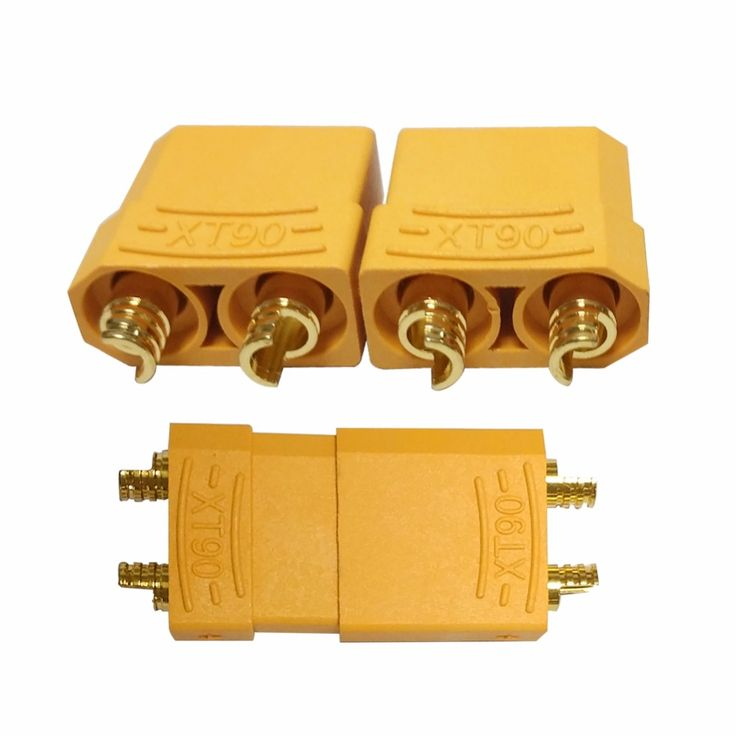 5Pairs Female Male XT90 Banana Connector for RC Lipo Battery #Affiliate