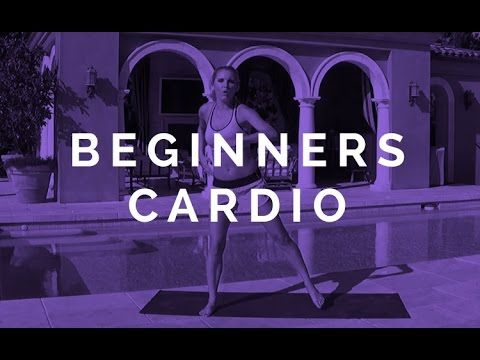Beginners Cardio | Rebecca Louise - YouTube