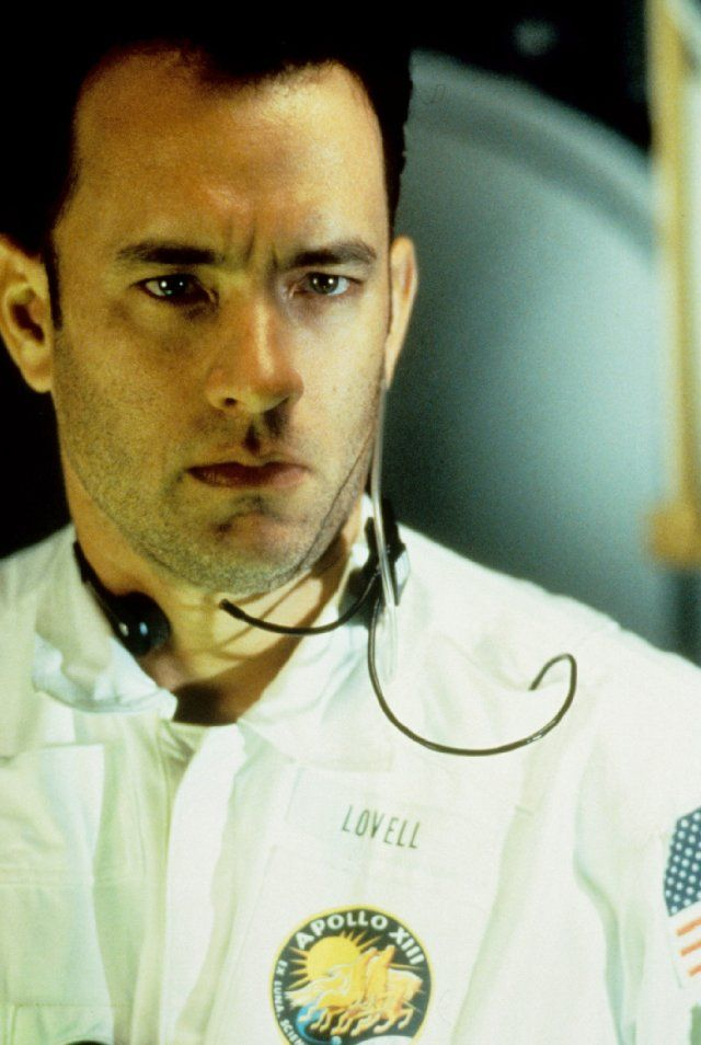 one of our favorite actors in one of our favorite films Tom Hanks in Apollo 13