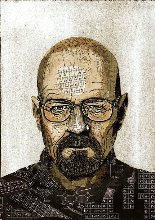 Breaking Bad - Walter White by Peter Strain *